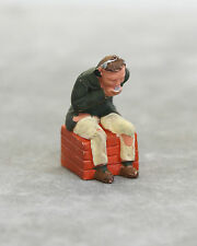 Vintage SCALEXTRIC Original Pink COMMENTATOR FIGURE ONLY For TV Tower & Crew Set
