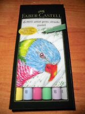 """Faber Castell Pitt artist pen brush 6er Etui """"pastel"""""""