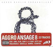AGGRO BERLIN PRÄSENTIERT : AGGRO ANSAGE 8 - CD 2008 * NEU *
