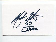 Mark Eaton UCLA Bruins Utah Jazz Signed Autograph