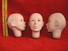 Blank face Doll Head lot  - Wise Woman's Creations  Maiden's Journey 1997 U.S.A.