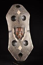 17763 Afrikanische Alte Chokwe Schield Plank DR Kongo