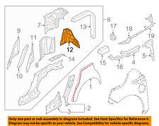 AUDI OEM 12-17 A8 Quattro Quarter Panel-Rear Plate Left 4H0810117TC