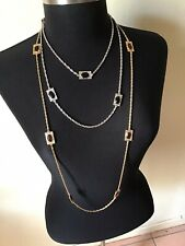 Emmons Jewelry Set Of 2 Long Necklace Silver And Gold Free Shipping