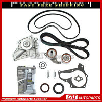 HNBR Timing Belt Water Oil Pump Kit For 87-91 Toyota Camry Celica 2.0L DOHC 3SFE