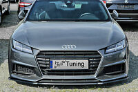 Sonderaktion Spoilerschwert Frontspoiler Cuplippe ABS für Audi TT TTS 8S S Line
