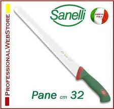 COLTELLO SANELLI PANE cm 32 SEGHETTATO PER PANE PIZZA FOCACCIA coltelli sanelli