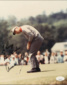 Arnold Palmer 8x10 Hand-Signed Autographed -w/COA JSA Certified Best Wishes