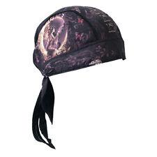 Lady Biker Damen Kopftuch Bandana Headwrap Good Fairy Fee Blumen Schmetterlinge