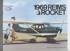 (192) Catalogue brochure Aircraft Cessna 1969 Reims Rocket