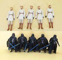 "Star Wars The Clone Wars Darth Vader Obi-Wan Kenobi Action Figure 3.75"""