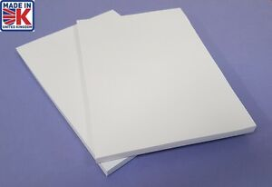 A4  SKETCH PAD x 2 PAPER PLAIN WHITE  JOTTER / NOTEPADS / PADS FREE POSTAGE