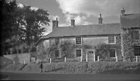 B/W Negative  Ramsbury Wiltshire Village Scene 1947 +Copyright DB1428