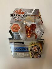 Bakugan Ultra Armored Alliance, Pyrus Dragonoid - Collectible Action Figure -