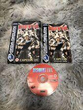 Resident Evil In OVP mit Anleitung(Sega Saturn, 1997)