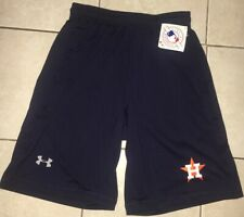Under Armour Houston Astros Navy Blue Shorts Men's Size Small
