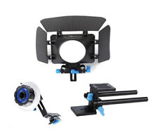 Follow Focus, Mattebox, Rig rail plate - 3 x Video Kit for Camera - Koolertron