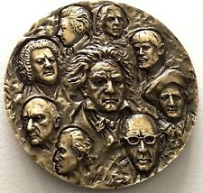 ART CLASSICAL MUSIC/ BEETHOVEN/ BACH/ MOZART/ CHOPIN/ WAGNER Bronze Medal / N142