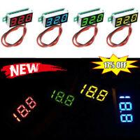 "0.28"" 2.5V-30V Mini Digital Voltmeter Voltage Tester Red/Blue/Green/Yellow"