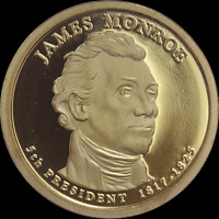 2015-S  LYNDON B JOHNSON Presidential Dollar Frosty Cameo From Mint Proof Set
