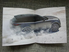 Range Rover Velar Prospekt in Schuber selten rare Brochure Deutsch German