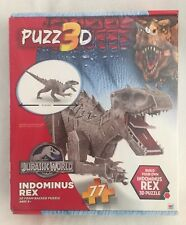PUZZ 3D Jurassic World Indominus Rex Puzzle NEW 77 Piece
