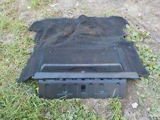 84-87 Honda CRX Rear Trunk Cargo Black Carpet w Storage Box Interior Compartment