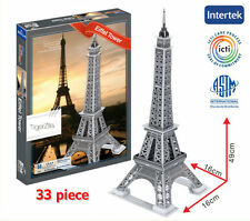 Eiffel Tower 3D Puzzle Paris France Famous Building Landmark Tower Gift Present