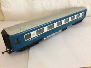 TRIANG R426 DIESEL BLUE WHITE PULLMAN CENTRE COACH & FULL INTERIOR HORNBY GC