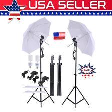 "33"" Photo Studio Lighting Umbrellas Camera Video Photography Light Lamp Kit Usa"