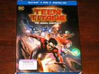 Teen Titans: The Judas Contract - DC Animated Superhero Film on Blu-Ray + DVD