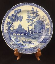 "SPODE Blue Room Collection ""Rome"" 10 1/4"" Plate, Made in England"