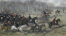 ALLEN SEALY & RICHARD JOSEY-Original LIM.ED. Color Etching-British Horse Race