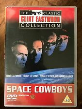 SPACE COWBOYS ~ 2000 Sci-Fi DeAgostini Clint Eastwood Collection UK DVD