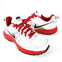 Nike Dart 9 Trainers Shoes UK 5 EU38 US 5.5 White / Red Running Shoes