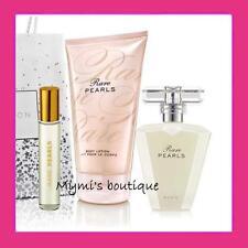 Lot RARE PEARLS Avon : eau de parfum + mini flacon bille + lait hydratant corps
