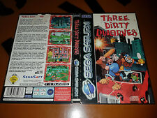 # Sega Saturn-Three Dirty Dwarves-défectueux/faulty/Defective #