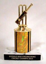 Cricket Trophy - Free Engraving