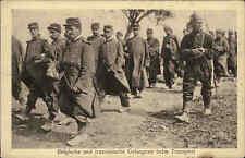 1. Weltkrieg Soldaten Soldiers War I. Belgische & Französische Gefangene Guerre