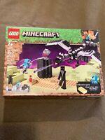 LEGO Minecraft The End Battle #21151 222 Pcs NEW MINT