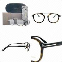 Authentic Tom Ford TF5495 052 48mm Dark Havana FT5495 Eyeglasses
