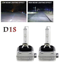 Pair 35W D1S 6000K Xenon Bulb Lamp Hid Headlight White Light For Car Motorcycle