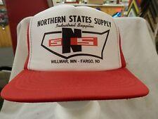 trucker hat baseball cap NORTHERN STATES SUPPLY cool Mesh Style snapback retro