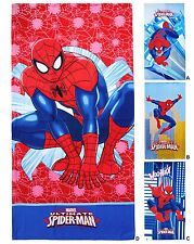 Toalla de Playa Toalla Microfibra Spiderman 70x140 Piscina Playa Niño Bebé