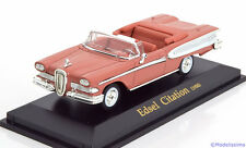 1:43 Collection 711 Ford Edsel Citation Convertible 1958 lightred
