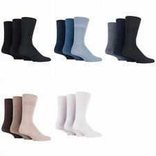 Polyester Patternless Multipack Socks for Men