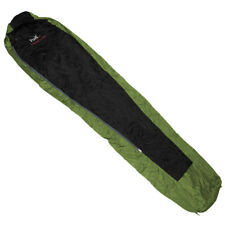 Fox Outdoor Sleeping Bag Duralight Travel Sleepover Warm Sack OD Green / Black