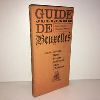 Henri Gault & Christian Millau GUIDE JULLIARD DE BRUXELLES 1965 Belgique - BA69A