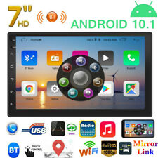 "2 DIN 7"" Android 10.1 Car Stereo MP5 Player WiFi GPS FM Radio Receiver Head Unit"