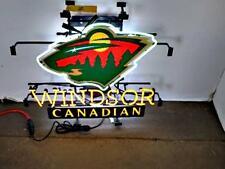 "New Windsor Canadian Minnesota Wild Beer Pub Neon Sign 17""x14"""